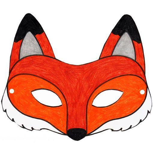 Masque renard imprimer anniversaire renard pinterest masque renard d guisement renard - Masque de renard a imprimer ...