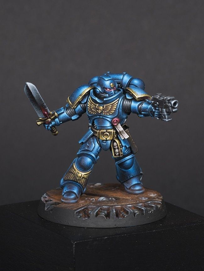 Study Room 40000: Geometric Study Primaris Space Marine Lieutenant By