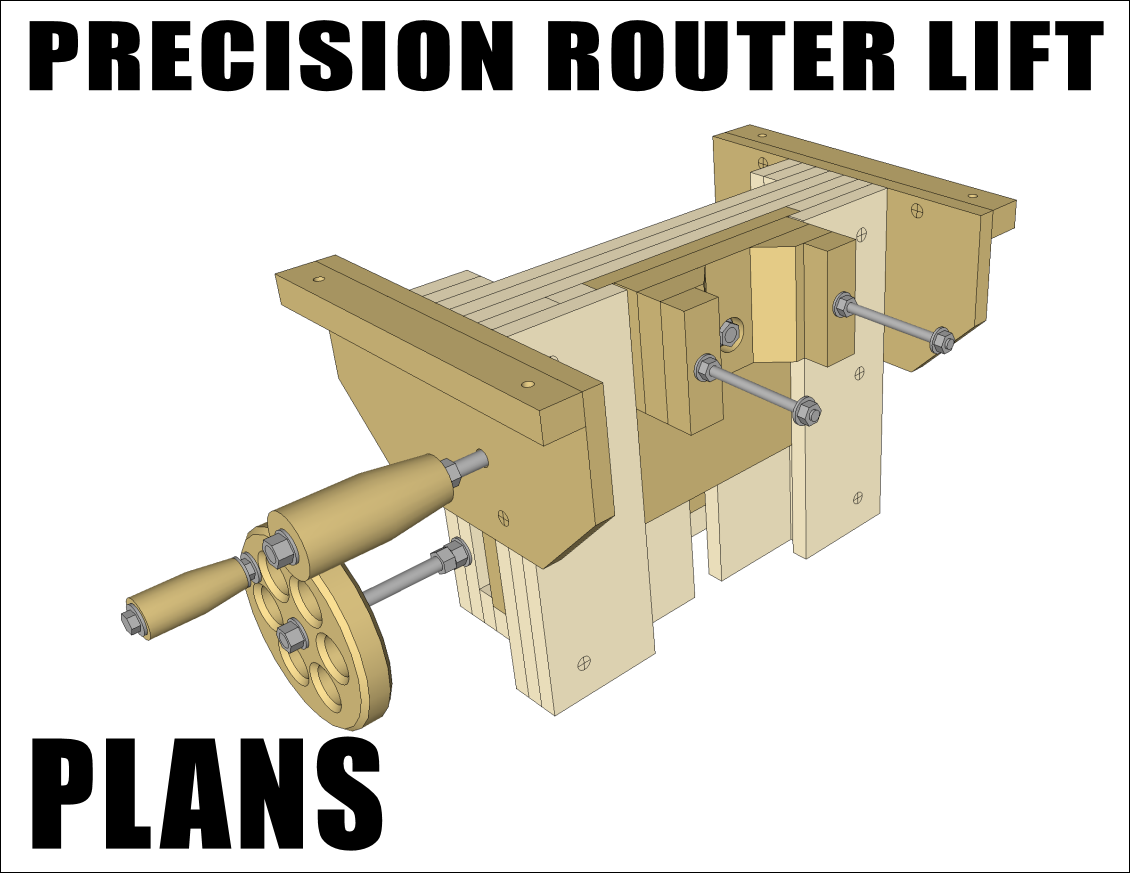 The Precision Router Lift Router Lift Router Diy Router