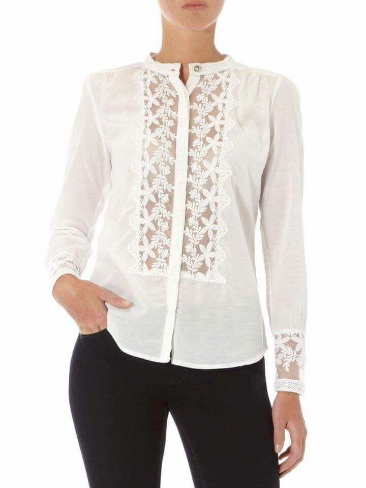 131cab8310 Randa blanca Blusa Branca