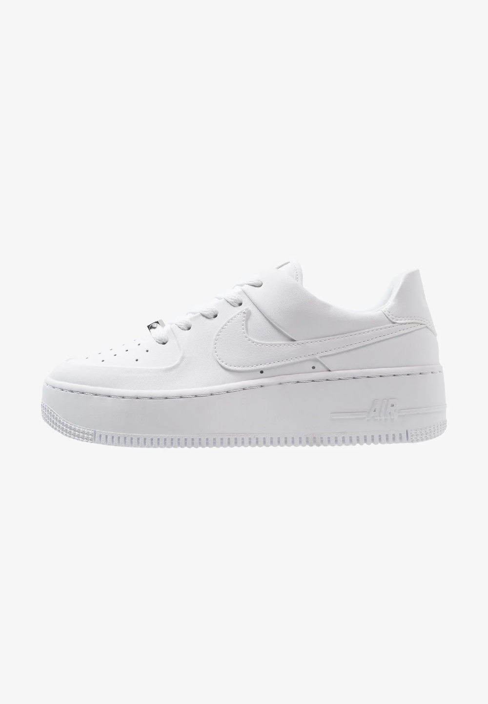 Nike Sportswear AIR FORCE 1 SAGE - Baskets basses - white/blanc ...