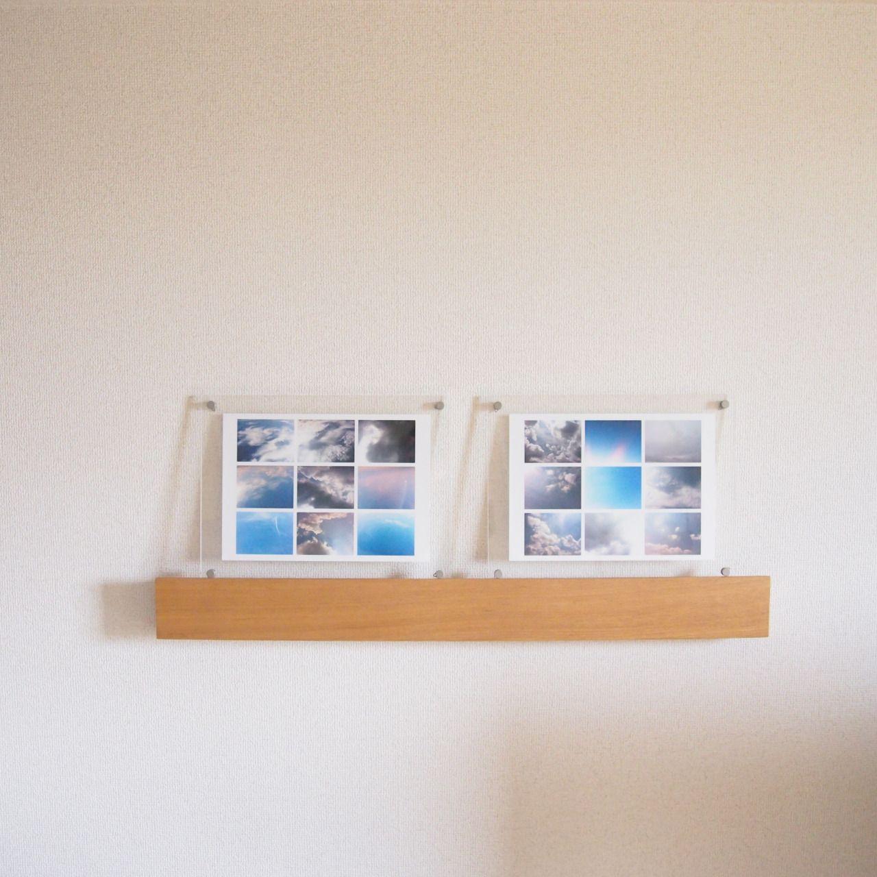 muji wall shelf and acrylic frames - Muji Frames