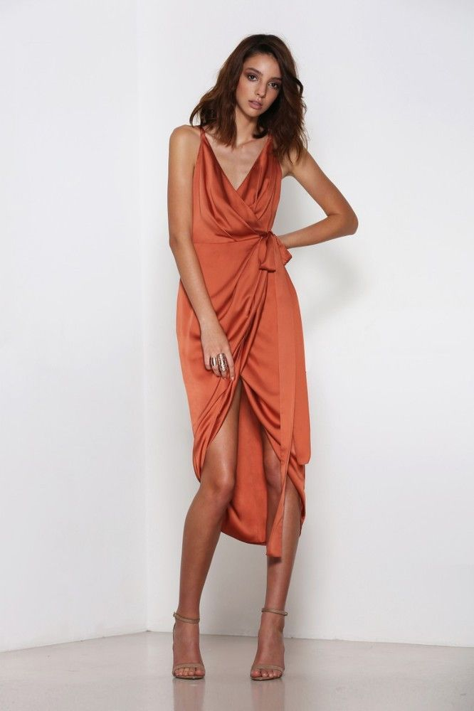 The Prestige Wrap Dress Is Your Go To Dress For This Season The