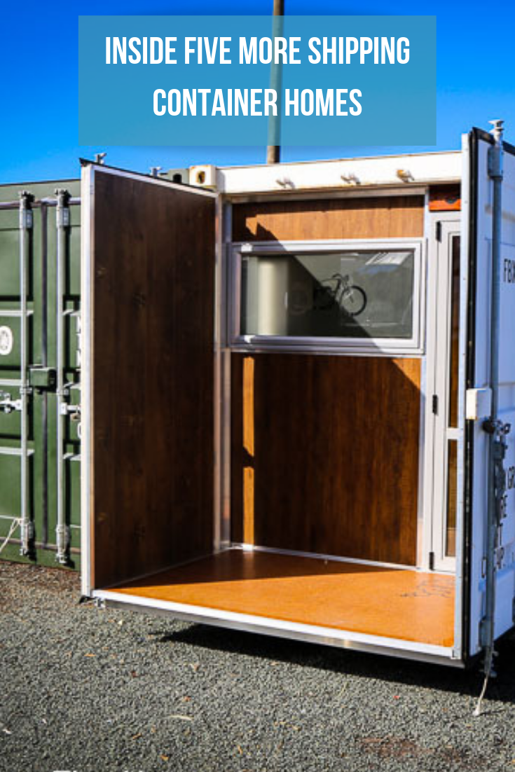 Inside Five MORE Shipping Container Homes Shipping