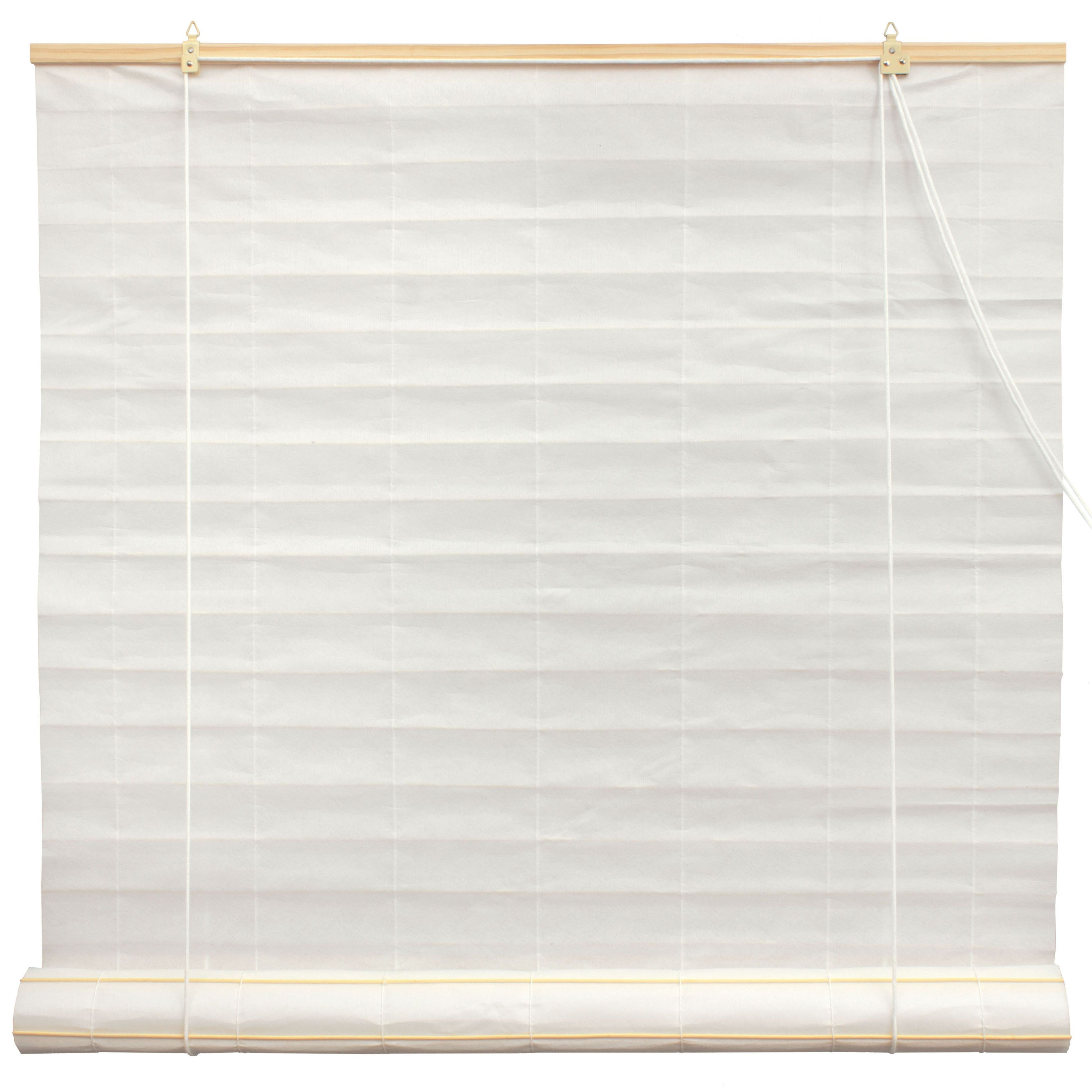 Shoji Paper Roll Up Blinds White From Oriental Furniture