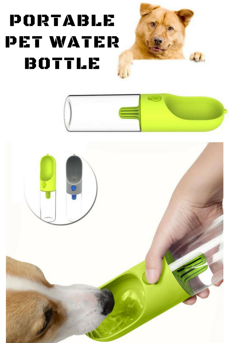 Portable Pet Water Bottle The Pet Water Bottle is perfect