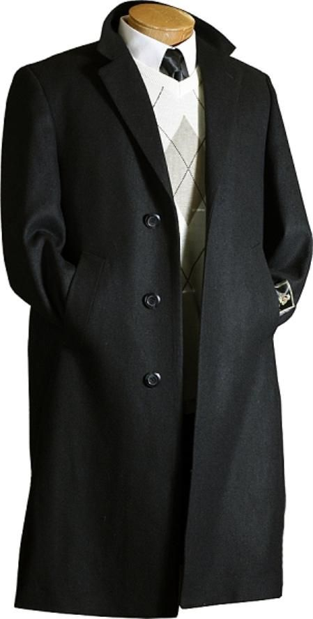 Mens Wool Trench Coat Photo Album - Reikian