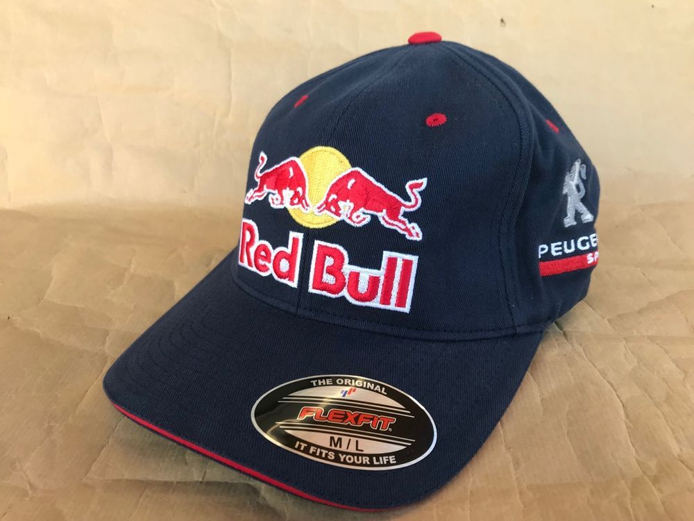 9bfe6becff6aed Red Bull Athlete Only Peugeot Sport Hat Cap by Flexfit Navy Size M/L  #fashion #clothing #shoes #accessories #mensaccessories #hats (ebay link)
