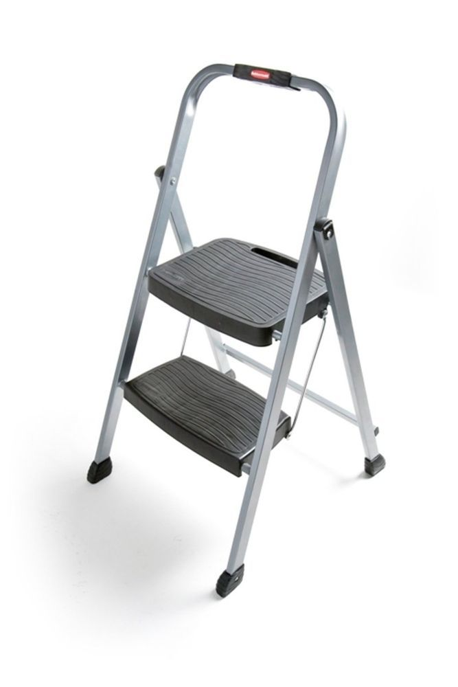 Bed Step Stool: Folding Step Stool Ladder Mobile Home Sog 2 Bed Two Step