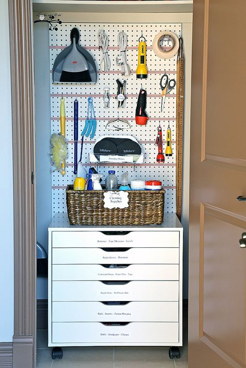 Reader Space Small Space Big Function Utility Room Organization Utility Closet Home Organization