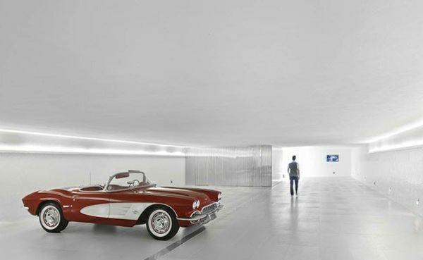 architektur und design das p haus in brasilien led beleuchtung garage und led. Black Bedroom Furniture Sets. Home Design Ideas