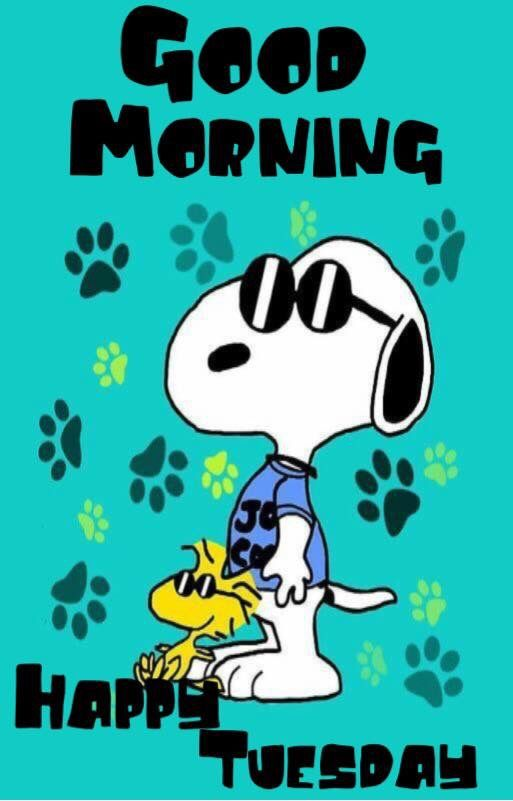 snoopy guten morgen