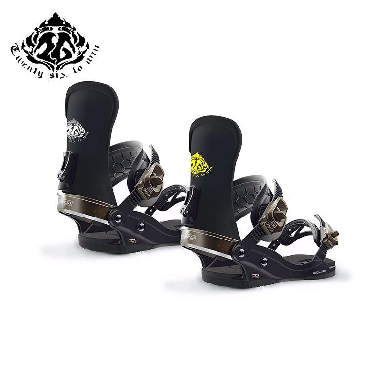 Yirmi Alti Yetiskin Kayak Kayak Ekipmanlari Icin Fixer Kazanmak Kapat Karisik Magnezyum Alasim Toka Kayak Plaka Fixer Skiing Snowboarding Skiing Snowboarding