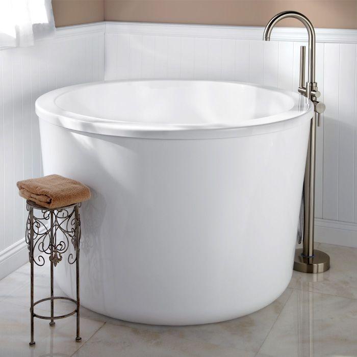 Vasca da bagno: 5 modi per sceglierla in un bagno piccolo | Japanese ...