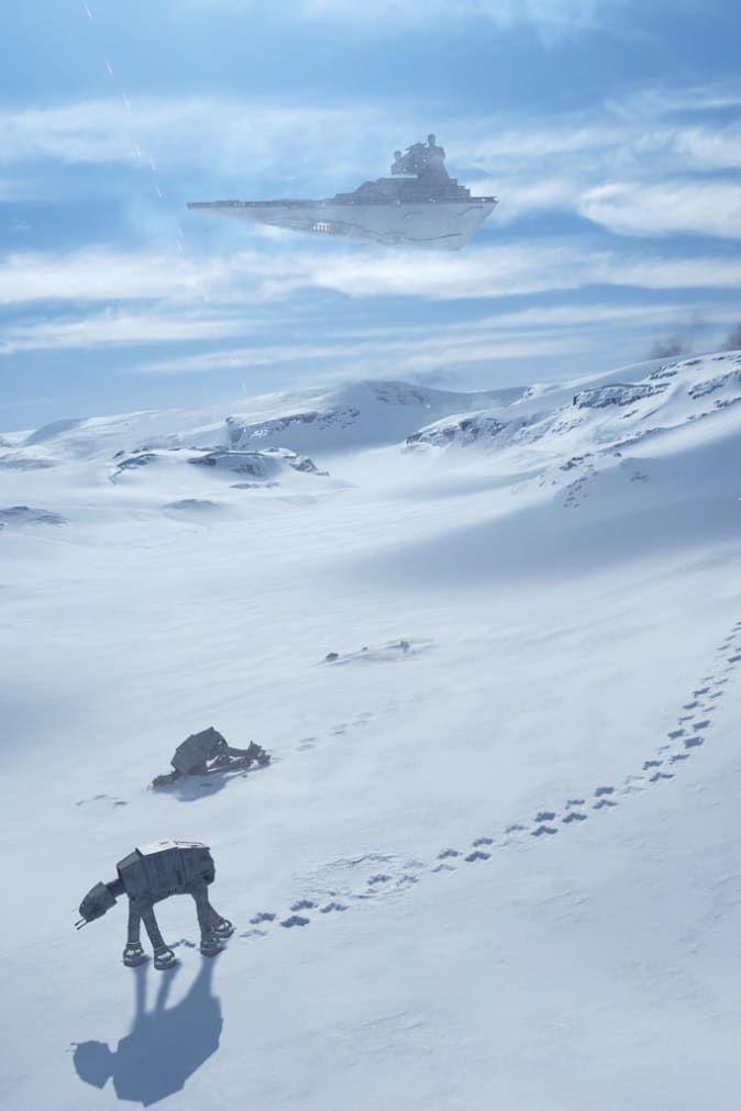 These Star Wars Battlefront Screenshots Are Beautiful