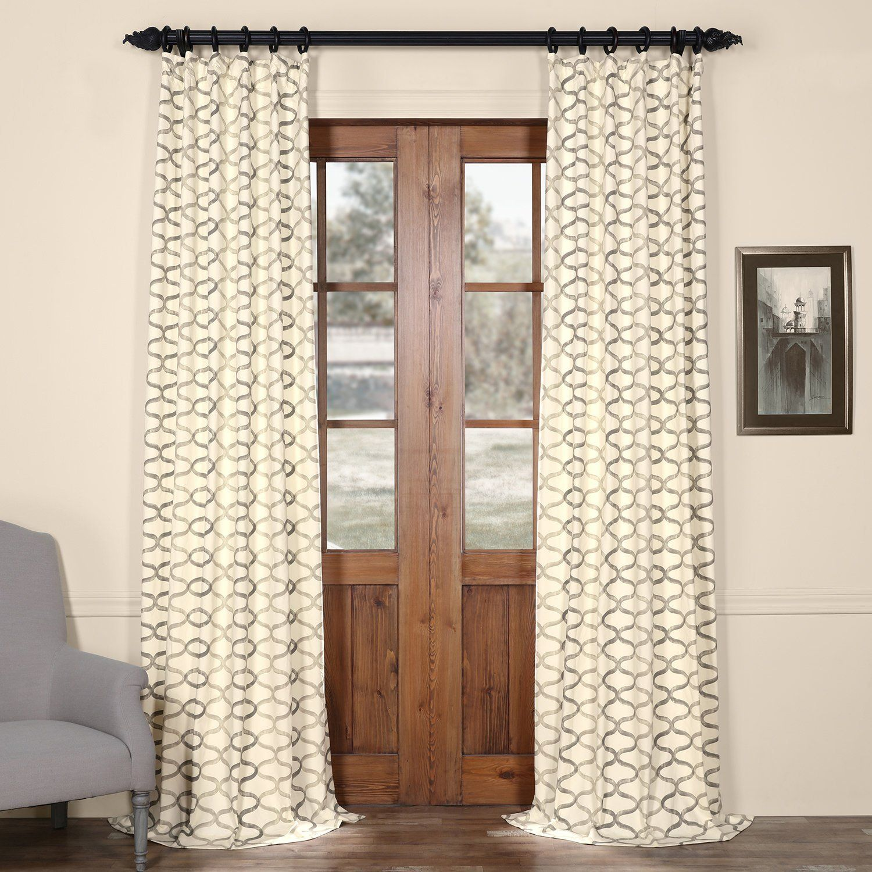 silver curtains drapes sale