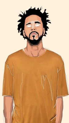 J Cole Wallpaper Tumblr J Cole Art Rapper Art J Cole