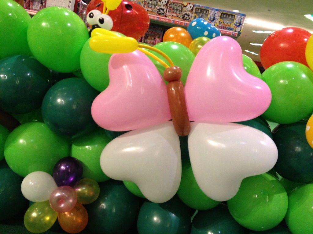 butterfly balloon decorations Singapore Balloon