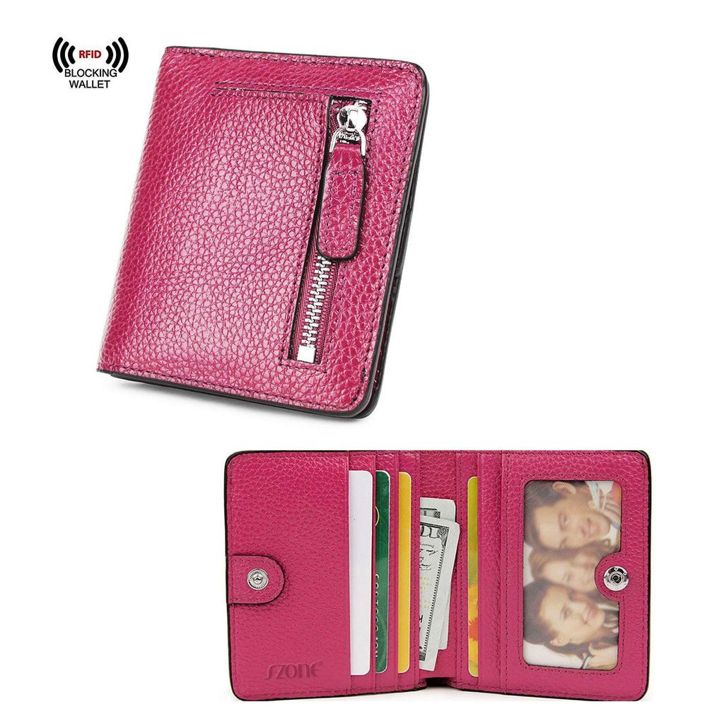 6cda0a280c5c Genuine Leather Clutch RFID Blocking Short Wallet Card Holder Purse For  Women  fashion  clothing  shoes  accessories  womensaccessories  wallets  (ebay link)