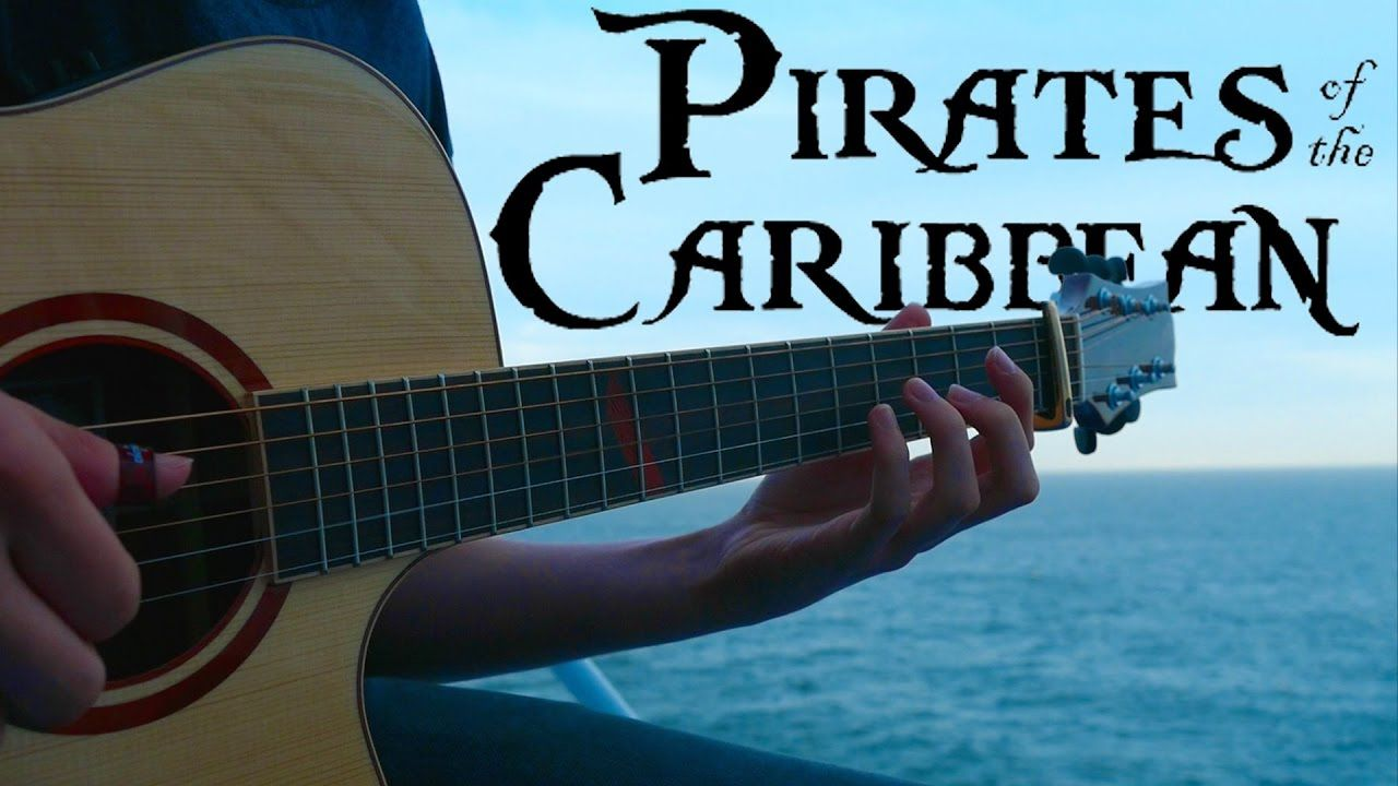 Pirates Of The Caribbean Theme Fingerstyle Guitar Cover By Eddie