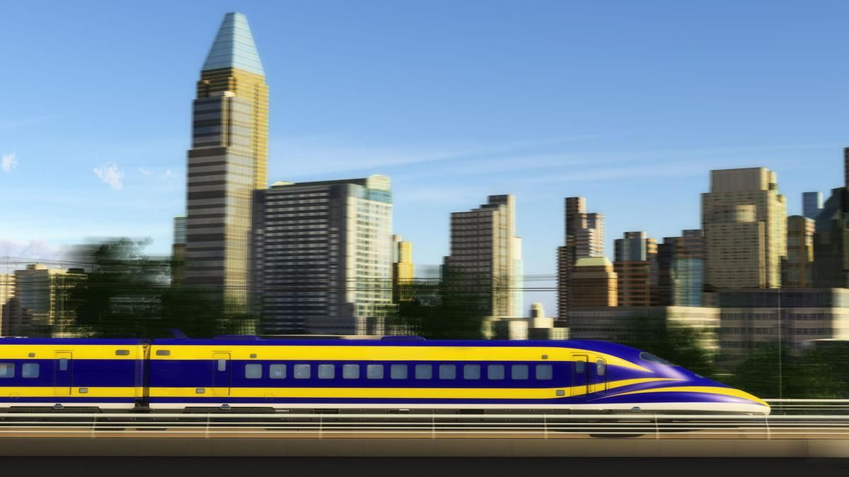 California's bullet train changes course for Silicon