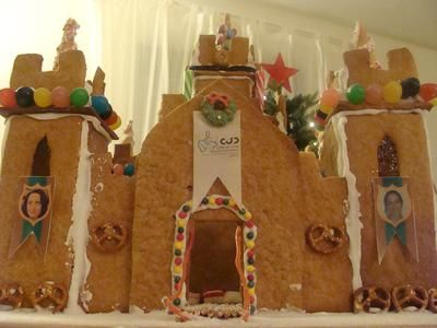Gingerbread Castle Template Holiday Food Pinterest Gingerbread