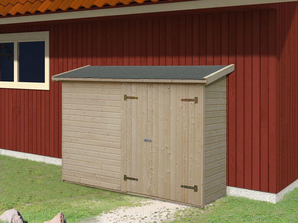 Gartenschrank Gartenhaus Mia Leif 2 2 M Geratehaus Gerateschuppen 234x95 Cm Garten Terrasse Gartenbauten Sonnenschutz Gartenhauser Gerateschuppen