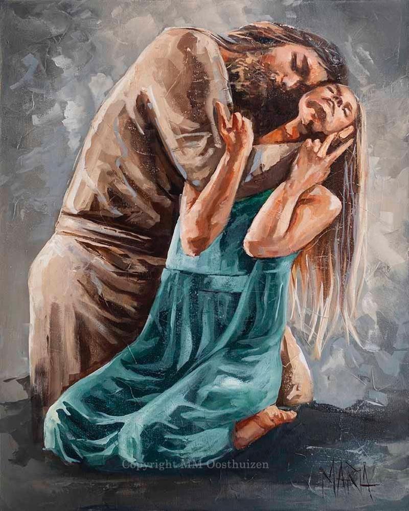M20058 Lover of my soul in 2021 | Original fine art, Spiritual artwork, Fine art painting