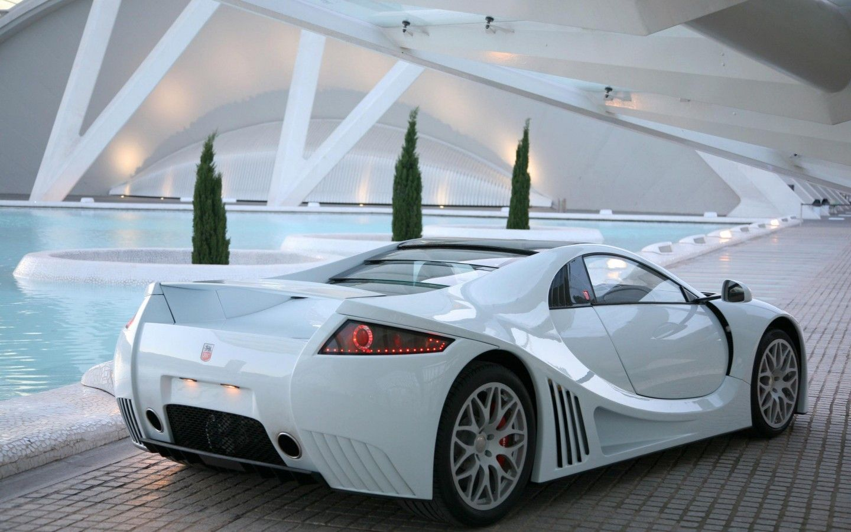 Supercar White Pool Luxury Cars Free Hd Wallpapers Luxury Car Rental White Car Super Cars