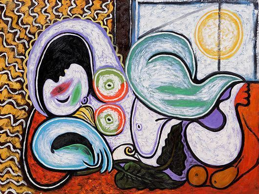 Nu Couché  (Reclining Nude) by Pablo Picasso