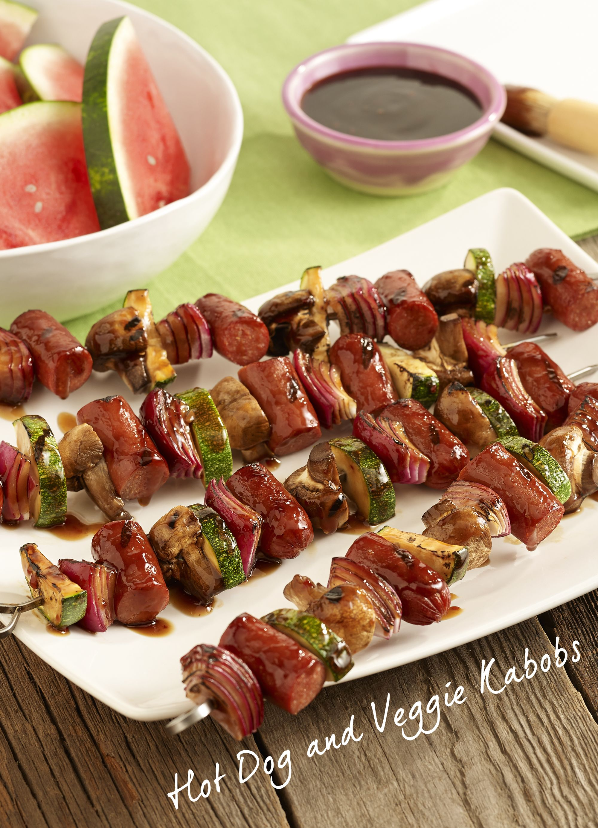 Try a gluten free dish this Father's Day with our Hot Dog and Veggie Kabobs. You won't miss the bun with this dish!