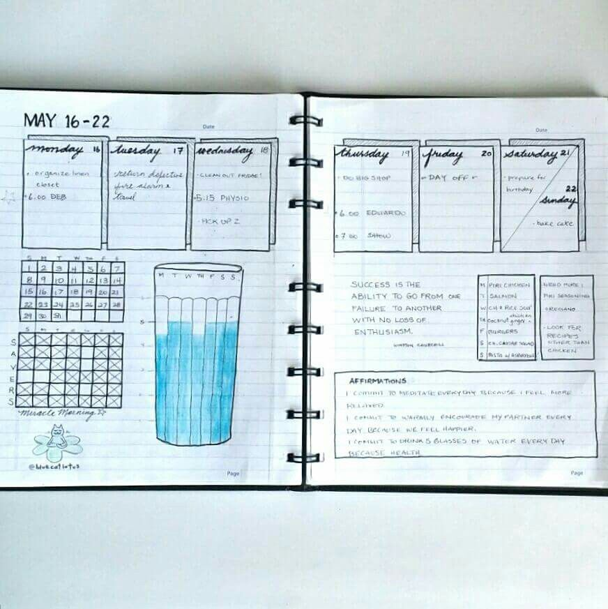 Water tracker | Journal | Pinterest | Bullet, Water and ...