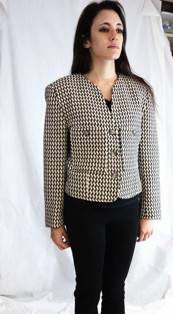 1cdbc6a21e270 vintage Wool Jacket Krizia