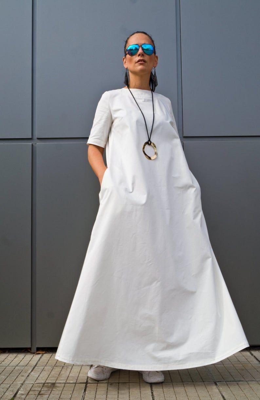 White Plus Size Maxi Dress Boho Maxi Dress Women S Clothing Kaftan Maxi Dress Caftan Long Dresses Cotton Boho Dress By Yolinexl Maxi Dress Plus Size Maxi Dresses Women Dresses Classy [ 1224 x 794 Pixel ]