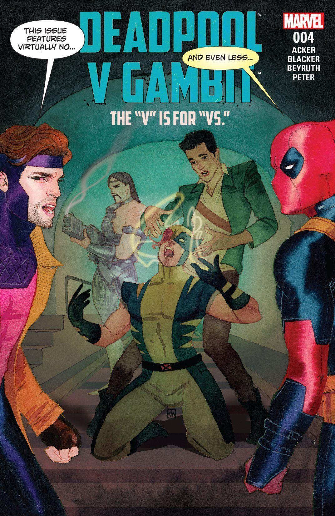 Deadpool v Gambit (2016) 4 (of 5) Comics by comiXology