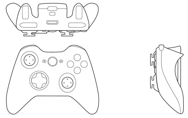 Drawing Smooth Lines Xbox : Orthographic drawing xbox controller irzal adji pangestu