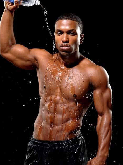Hot Black Guys With Abs