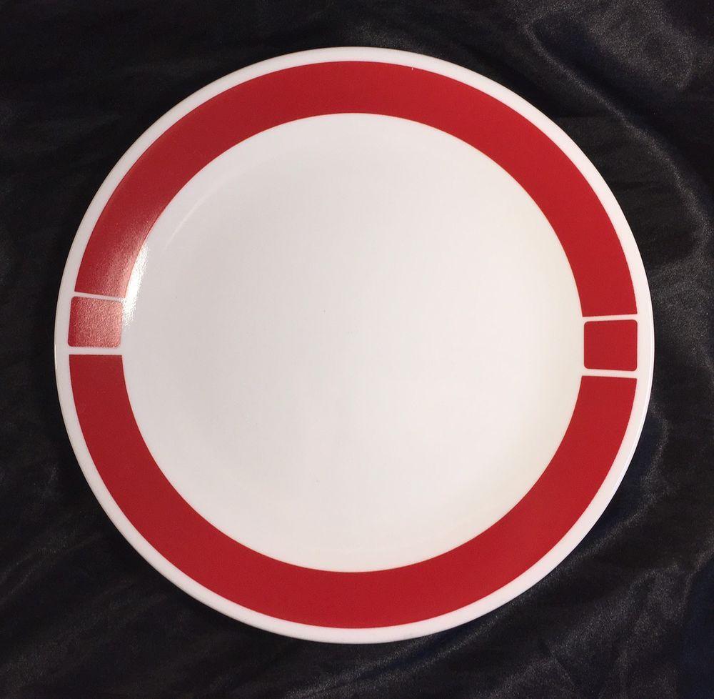 Urban Red Corelle by Corning Plate | eBay | eBay and Poshmark ...