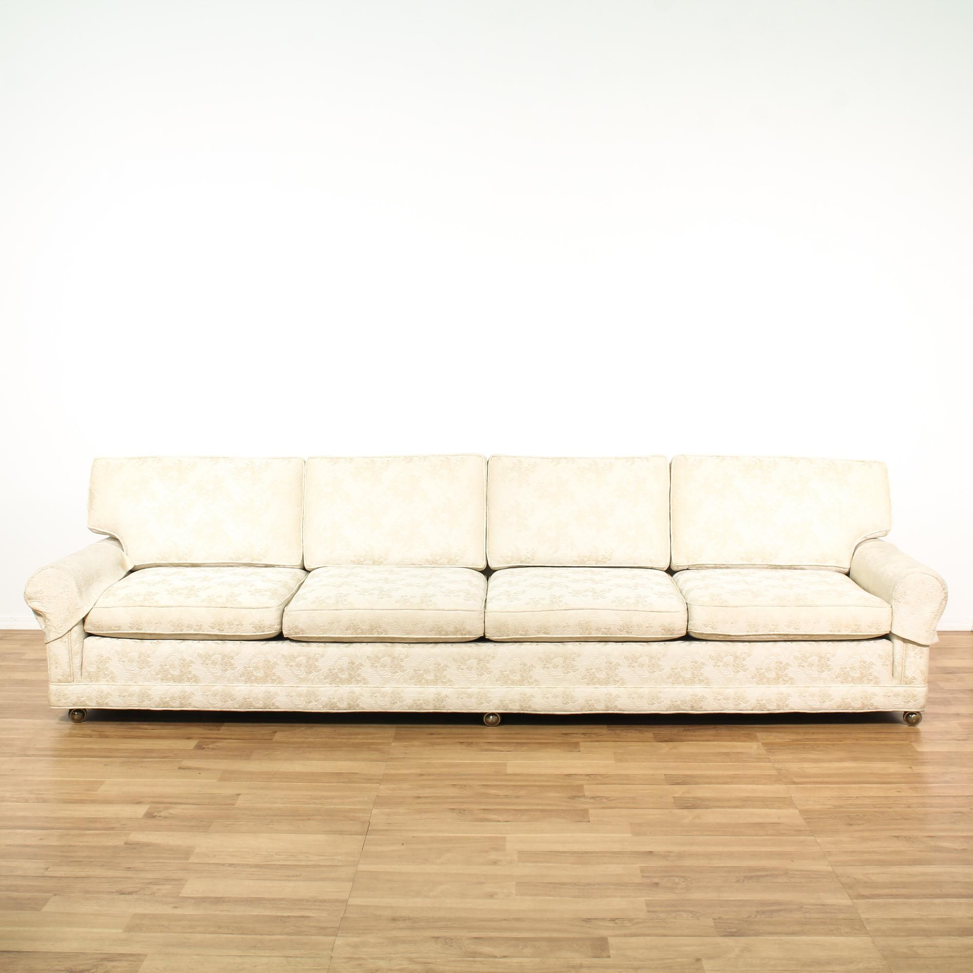 Krause Sleeper Sofa Funky Clearance White Brocade Baci Living Room