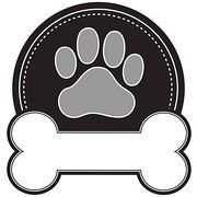 Dog Paw Print Clipart Vector Graphics 1239 Dog Paw Print Eps Clip