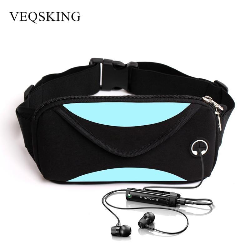 5c3f62cd5b57 Unisex Running Waist Bag, Sport Waist Pack, Waterproof Mobile Phone ...