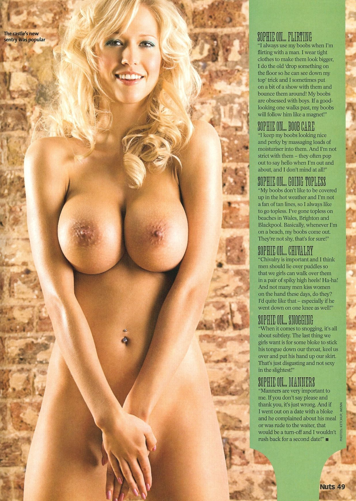 Sophie Reade Boob Size Pretty 98524-sophie-reade-topless-nuts-scans-june-2009-41 | june