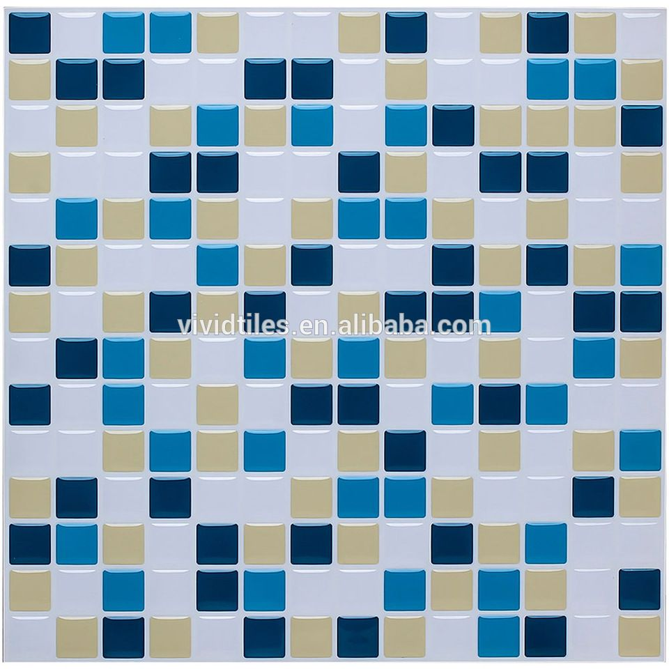 Home decoration modern backsplash tile ideas 3D adhesive decorative ...