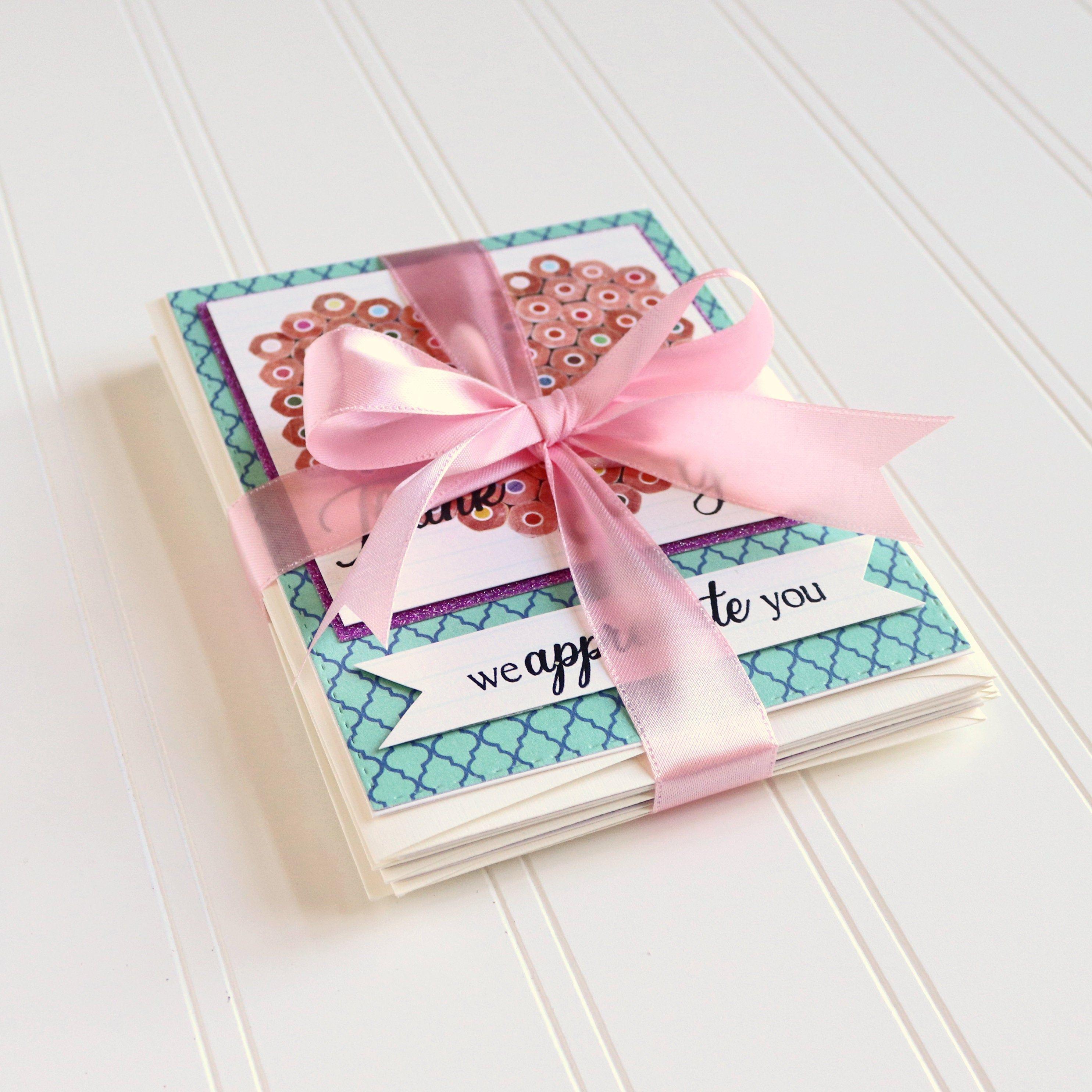 gift for a teacher handmade greeting cards teacher