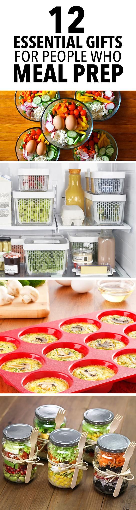 12 Essential Gifts for People Who Meal Prep -- Give the meal prepper in…