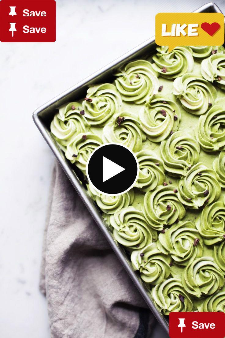 matcha fudge sheet cmatcha fudge sheet cake