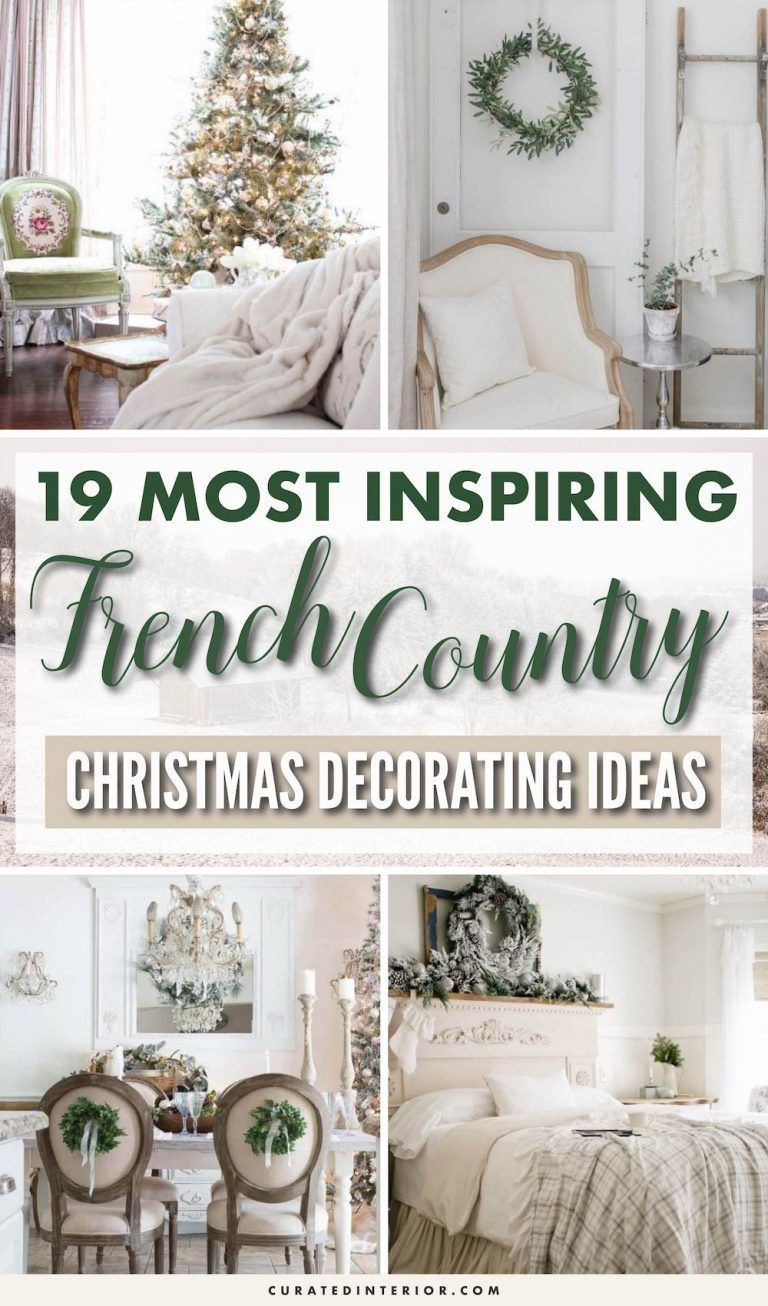 Photo of 19 French Country Christmas Decor Ideas