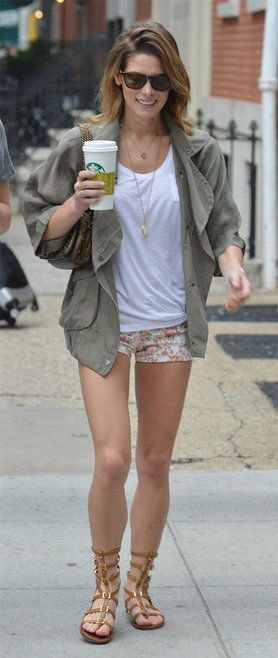 Ashley Greene out and about in Soho with a female companion Where: Manhattan, New York, United States When: 12 Jun 2014 Credit: TNYF/WENN.com