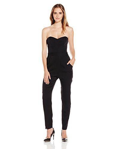 85c1823f080 Milly Women s Stretch Silk Bustier Jumpsuit