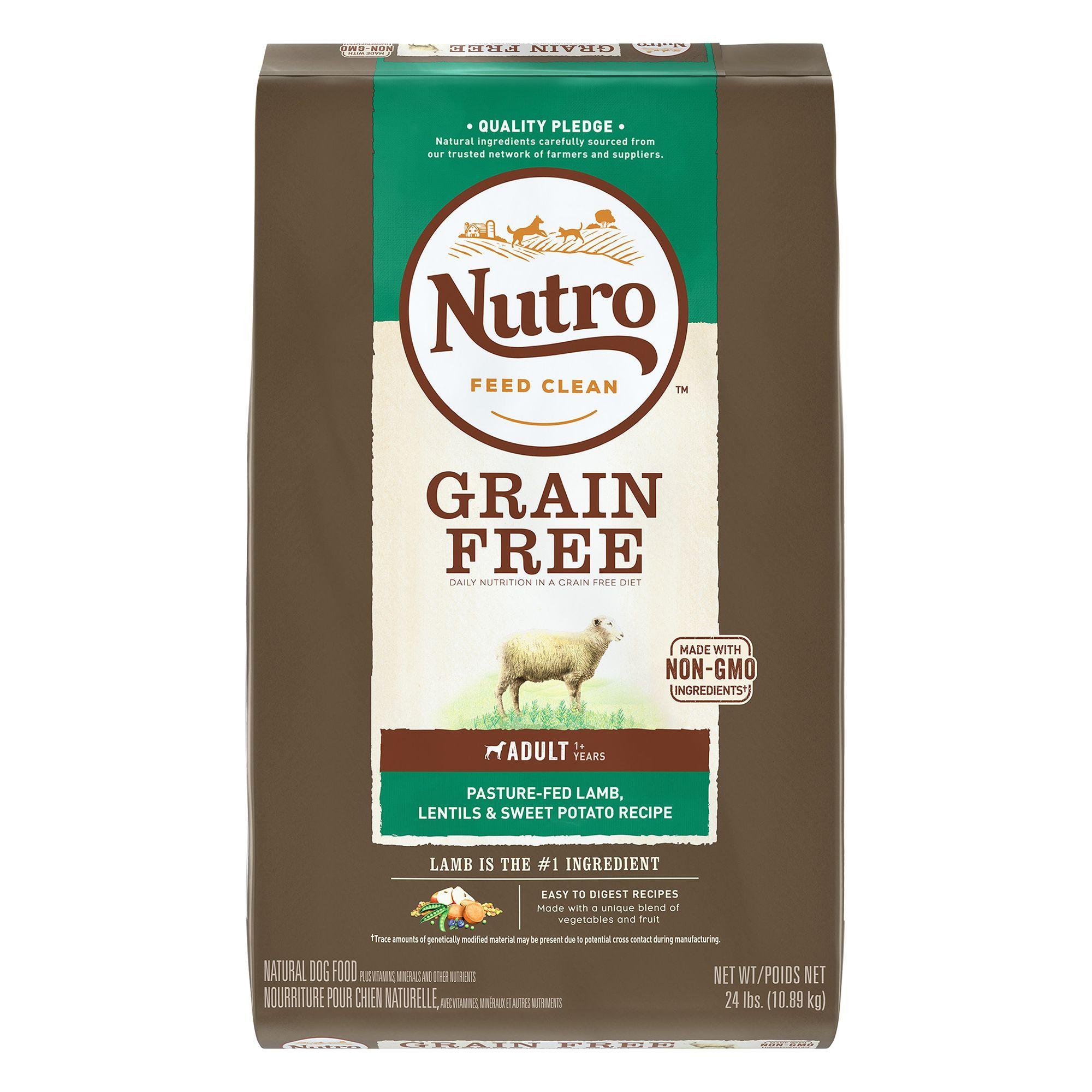 Nutro Adult Dog Food Natural Lamb Lentils And Sweet Potato